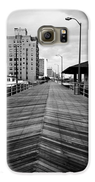 The Boardwalk Samsung Galaxy Case by Linda Sannuti