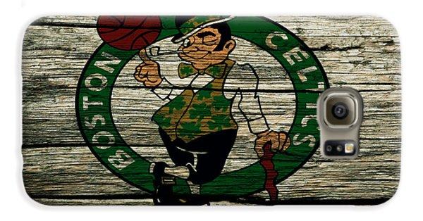 The Boston Celtics 2w Galaxy S6 Case by Brian Reaves