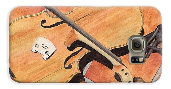 The Broken Violin Galaxy S6 Case by Ken Powers