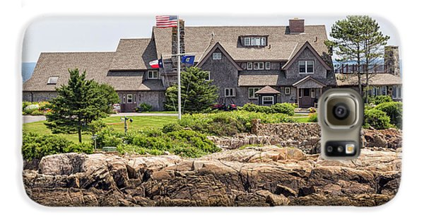 The Bush Compound Kennebunkport Maine Galaxy S6 Case by Brian MacLean