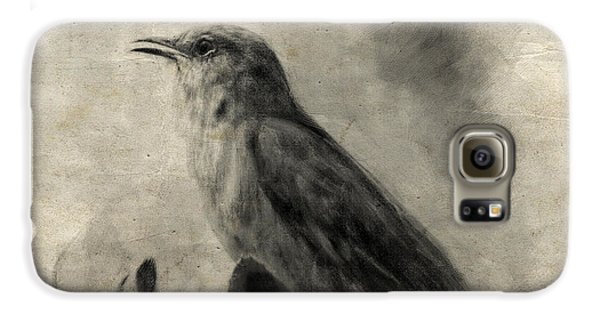 The Call Of The Mockingbird Galaxy S6 Case by Jai Johnson