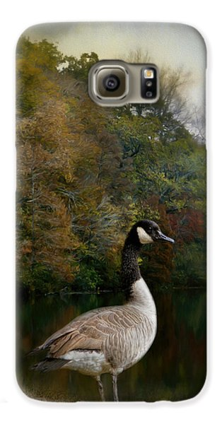 The Canadian Goose Galaxy S6 Case by Jai Johnson