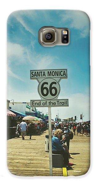 The End Of Sixty-six Galaxy S6 Case by Laurie Search