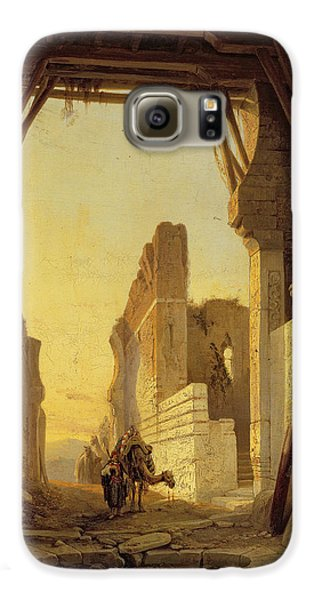 The Gates Of El Geber In Morocco Galaxy S6 Case by Francois Antoine Bossuet