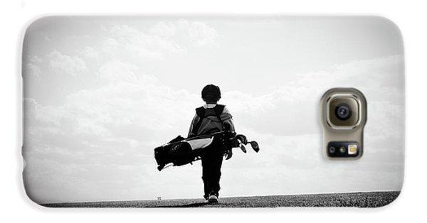 The Golfer Galaxy S6 Case by Shawn Wood
