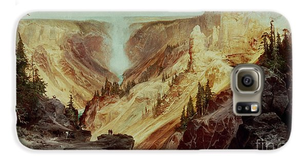 The Grand Canyon Of The Yellowstone Galaxy S6 Case by Thomas Moran