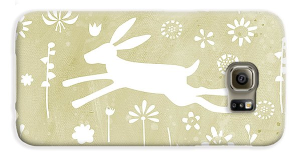 The Hare In The Meadow Galaxy S6 Case by Nic Squirrell