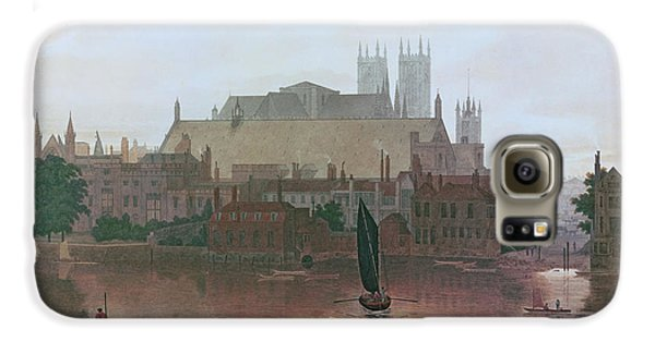 The Houses Of Parliament Galaxy S6 Case by George Fennel Robson
