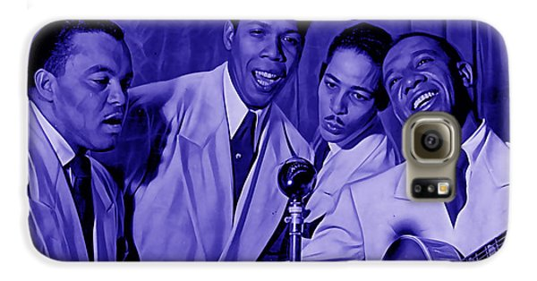 The Ink Spots Collection Galaxy S6 Case by Marvin Blaine