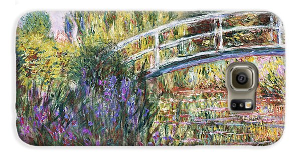The Japanese Bridge Galaxy S6 Case by Claude Monet