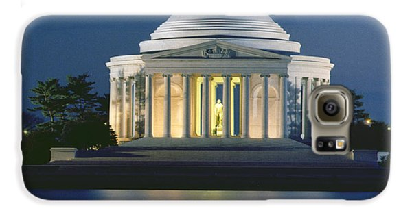 The Jefferson Memorial Galaxy S6 Case by Peter Newark American Pictures