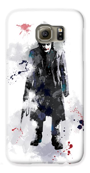 The Joker Galaxy S6 Case by Marlene Watson