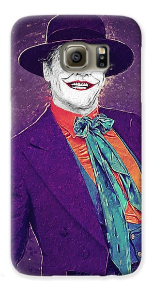 The Joker Galaxy S6 Case by Taylan Apukovska