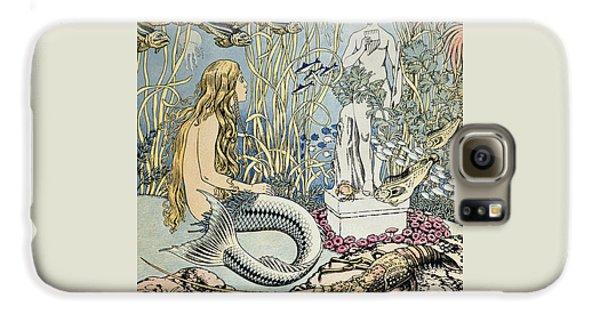 The Little Mermaid Galaxy S6 Case by Ivan Jakovlevich Bilibin