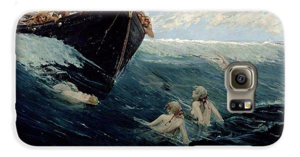 The Mermaid's Rock Galaxy S6 Case by Edward Matthew Hale
