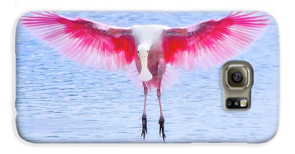 The Pink Angel Galaxy S6 Case by Mark Andrew Thomas