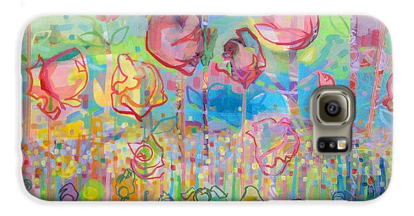 The Rose Garden, Love Wins Galaxy S6 Case by Kimberly Santini