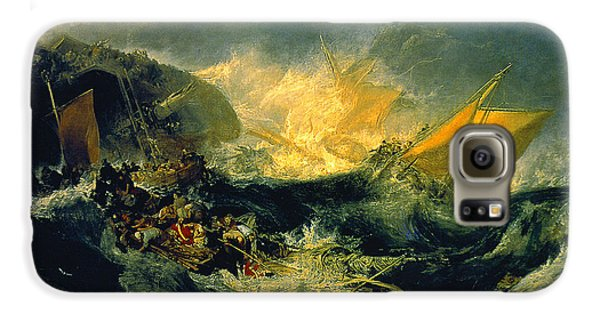 The Shipwreck Of The Minotaur Galaxy S6 Case by JMW Turner