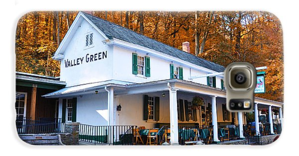 The Valley Green Inn In Autumn Galaxy S6 Case by Bill Cannon
