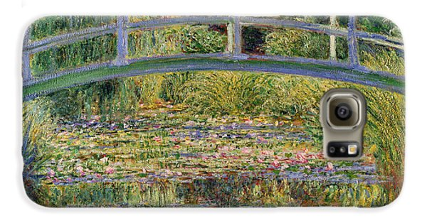 The Waterlily Pond With The Japanese Bridge Galaxy S6 Case by Claude Monet