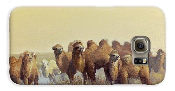 The Winter Of Desert Galaxy S6 Case by Chen Baoyi