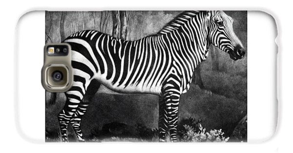 The Zebra Galaxy S6 Case by George Stubbs