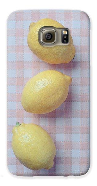 Three Lemons Galaxy S6 Case by Edward Fielding