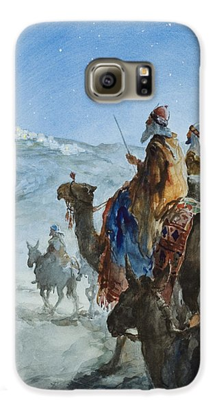 Three Wise Men Galaxy S6 Case by Henry Collier