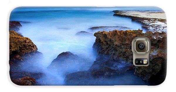 Tidal Bowl Boil Galaxy S6 Case by Mike  Dawson