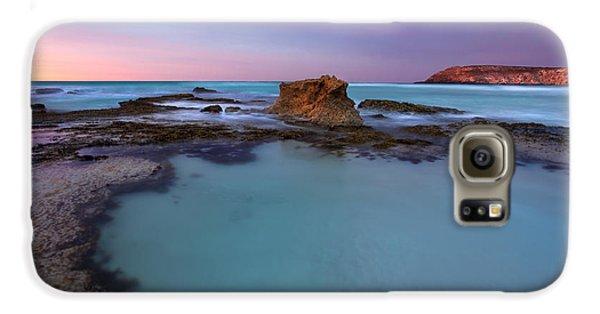 Tidepool Dawn Galaxy S6 Case by Mike  Dawson