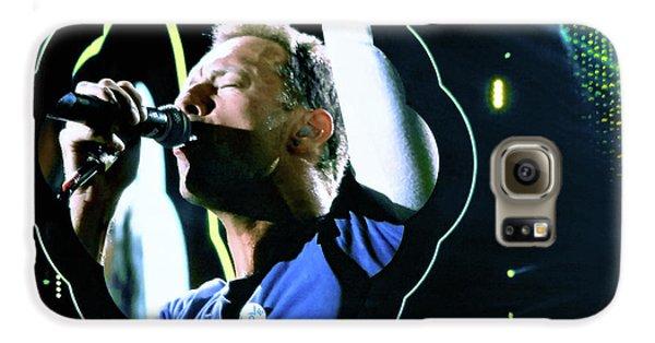 Chris Martin - A Head Full Of Dreams Tour 2016  Galaxy S6 Case by Tanya Filichkin