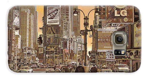 Times Square Galaxy S6 Case by Guido Borelli