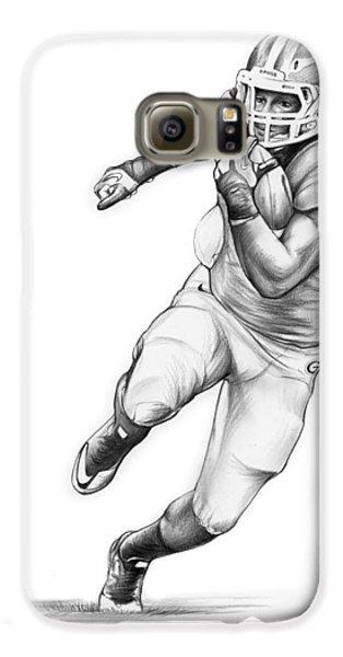 Todd Gurley Galaxy S6 Case by Greg Joens