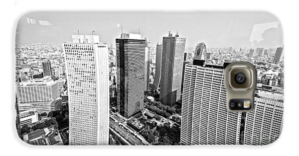 Tokyo Skyline Galaxy S6 Case by Pravine Chester