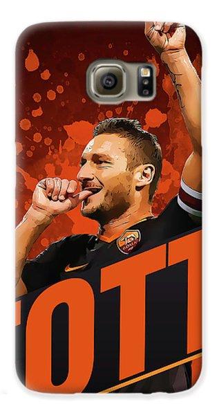 Totti Galaxy S6 Case by Semih Yurdabak