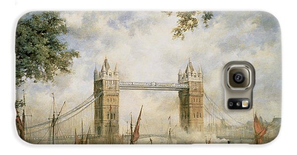 Tower Bridge - From The Tower Of London Galaxy S6 Case by Richard Willis