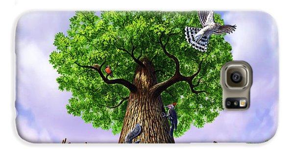 Tree Of Life Galaxy S6 Case by Jerry LoFaro