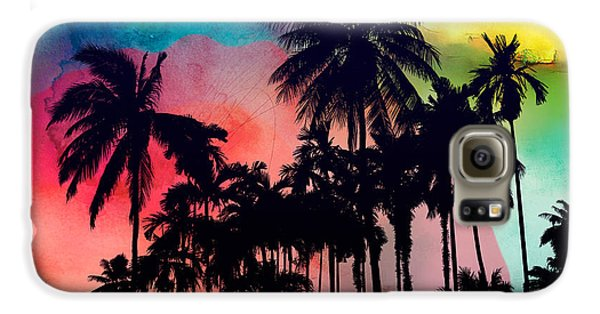 Tropical Colors Galaxy S6 Case by Mark Ashkenazi