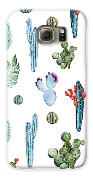Tropical Forever 2 Galaxy S6 Case by Mark Ashkenazi
