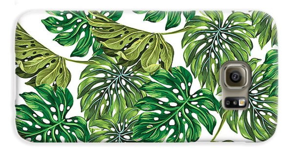Tropical Haven  Galaxy S6 Case by Mark Ashkenazi