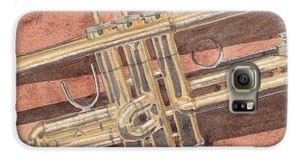 Trumpet Galaxy S6 Case by Ken Powers