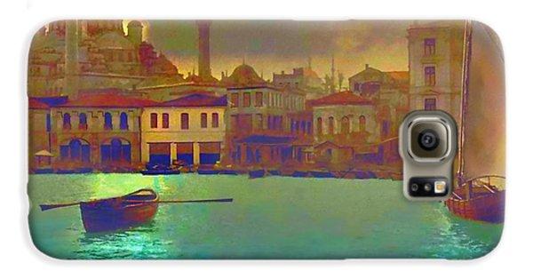 Turkish  Moonlight Galaxy S6 Case by Saiyyidah Seema  Z
