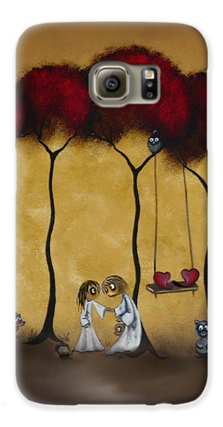 Two Hearts Galaxy S6 Case by Charlene Zatloukal