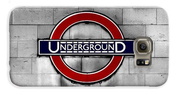 Underground Galaxy S6 Case by Mark Rogan
