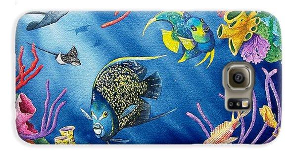 Undersea Garden Galaxy S6 Case by Gale Cochran-Smith