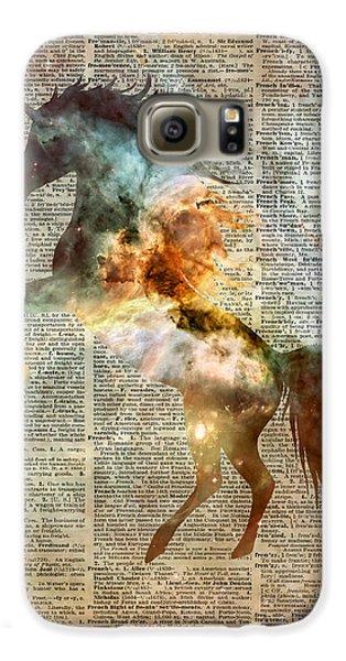 Unicorn Carina Nebula Galaxy S6 Case by Jacob Kuch