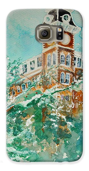 Ice On Old Main Galaxy S6 Case by Robin Miller-Bookhout