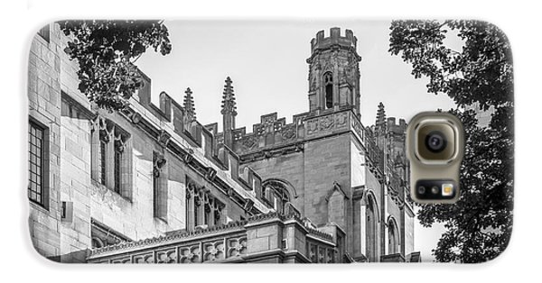 University Of Chicago Collegiate Architecture Galaxy S6 Case by University Icons