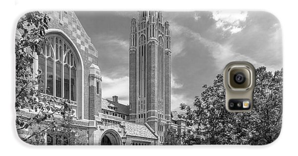 University Of Chicago Saieh Hall For Economics Galaxy S6 Case by University Icons