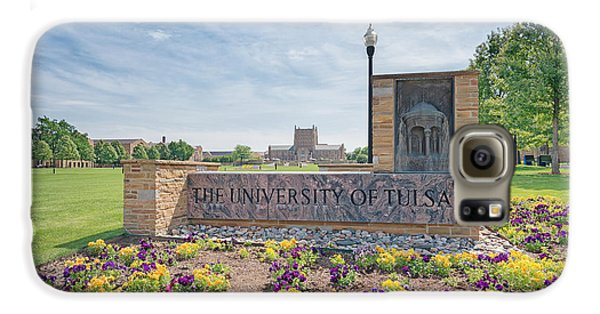 University Of Tulsa Mcfarlin Library Galaxy S6 Case by Roberta Peake